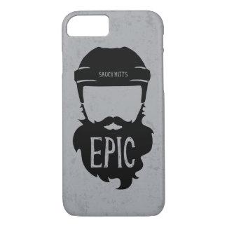 Epic Hockey Beard iPhone 7 Case