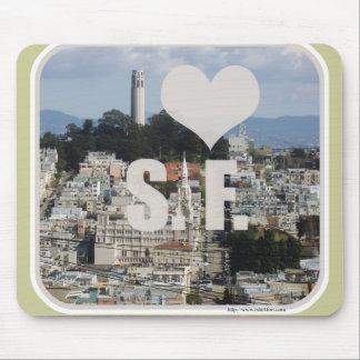 Epic I Love San Francisco Mouse Pad