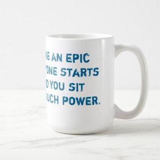 Epic Joke Classic White Coffee Mug