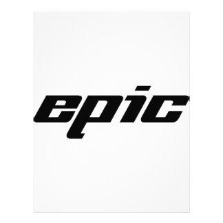 Epic Letterhead