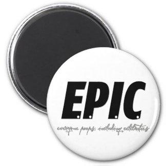 EPIC REFRIGERATOR MAGNET