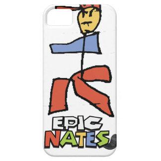 Epic mario Nate Style iPhone 5 Case