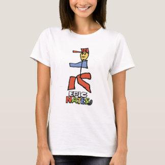 Epic mario Nate Style T-Shirt