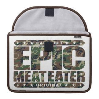EPIC MEAT EATER - Flesh Eating Carnivorous Warrior Sleeve For MacBooks