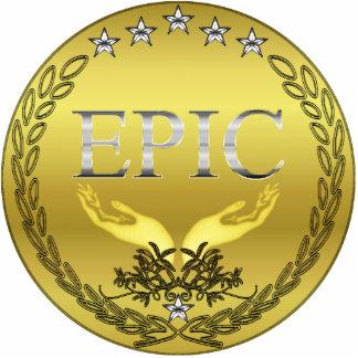 EPIC Medal Pin Photosculpture