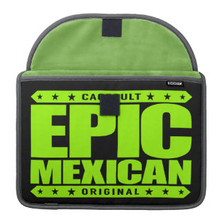 EPIC MEXICAN - A Conquering Ancient Mayan Warrior Sleeves For MacBooks