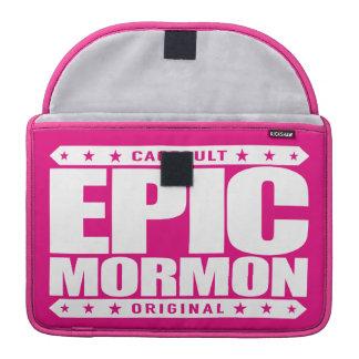 EPIC MORMON - Warrior Latter-Day Saint Church Goer Sleeve For MacBook Pro
