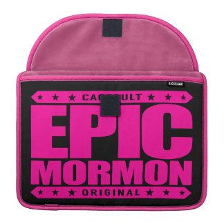EPIC MORMON - Warrior Latter-Day Saint Church Goer Sleeve For MacBooks