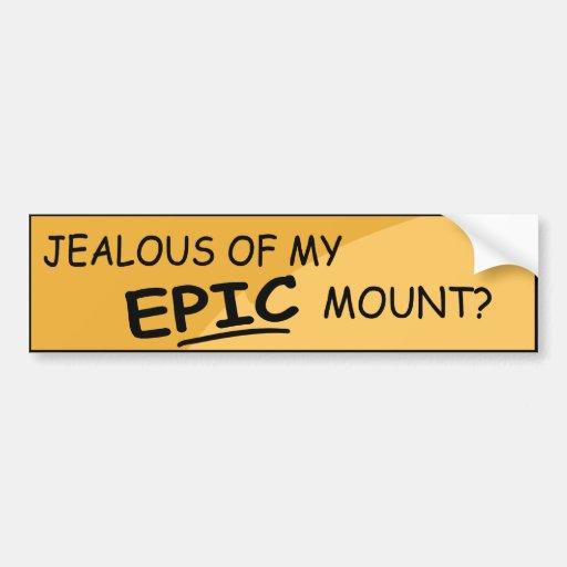 Epic Mount Bumper Sticker