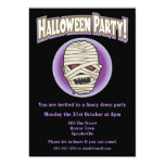 Epic Mummy Halloween Invitation 13 Cm X 18 Cm Invitation Card