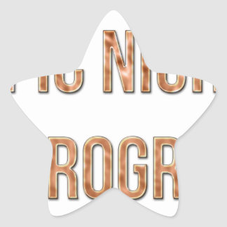 Epic Night In Progress Star Sticker