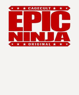 EPIC NINJA - I'm Flexible Athletic Stealth Warrior Tshirts