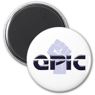 EPIC - OASIS 2 INCH ROUND MAGNET