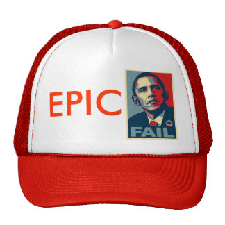 Epic Obama fail Trucker Hat