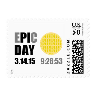 "Epic Pi Day - E""PI""C Day Apple Lattice Pie Postage"