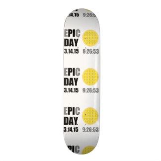"Epic Pi Day - E""PI""C Day Apple Lattice Pie Skate Decks"