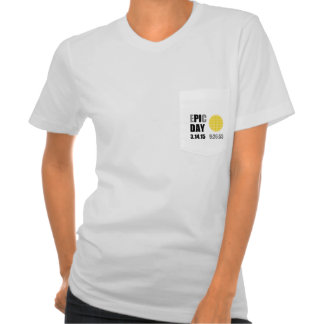 "Epic Pi Day - E""PI""C Day Apple Lattice Pie T Shirt"