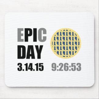 "Epic Pi Day - E""PI""C Day Blueberry Lattice Pie Mousepads"