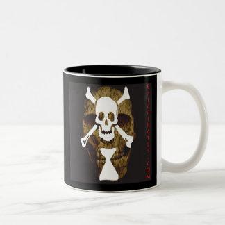 Epic Pirates Banner #10 Two-Tone Coffee Mug