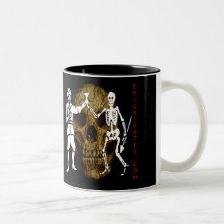 Epic Pirates Banner #11 Two-Tone Coffee Mug