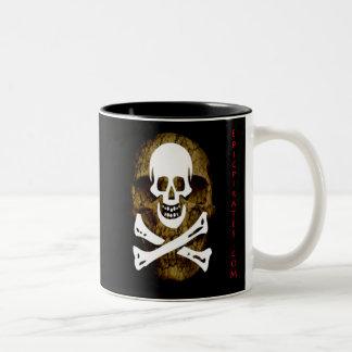 Epic Pirates Banner #12 Two-Tone Coffee Mug