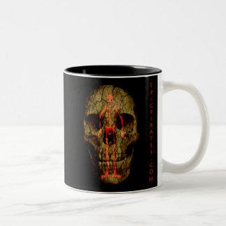 Epic Pirates Banner #4 Two-Tone Coffee Mug