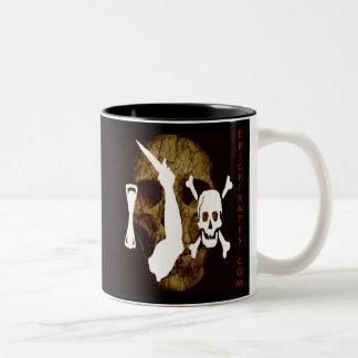 Epic Pirates Banner #8 Two-Tone Coffee Mug