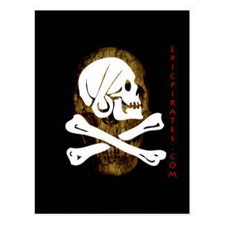 Epic Pirates Banner #9 Postcard