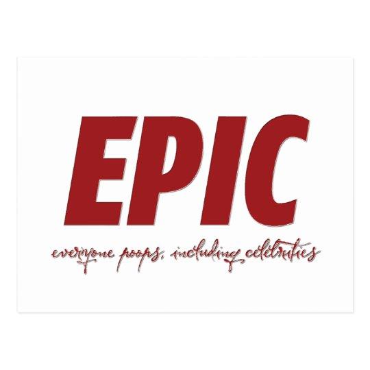 EPIC POSTCARD