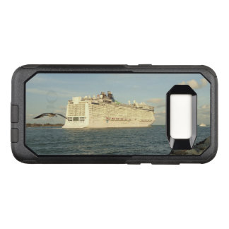 Epic Pursuit - Gull and Cruise Ship OtterBox Commuter Samsung Galaxy S8 Case