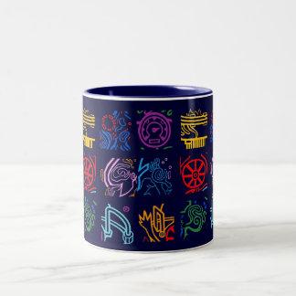 Epic Raver Two-Tone Coffee Mug