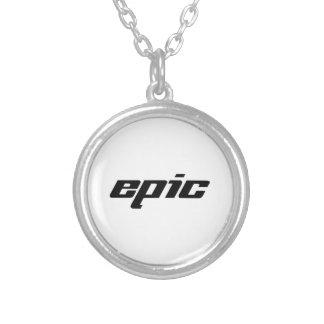 Epic Round Pendant Necklace