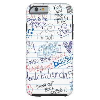 Epic School Doodles Tough iPhone 6 Case