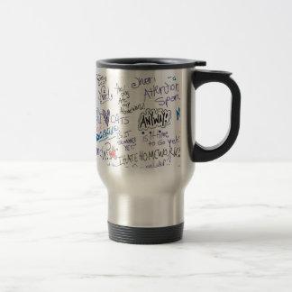 Epic School Doodles Travel Mug