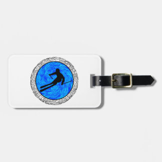 EPIC SKIING DREAM LUGGAGE TAG
