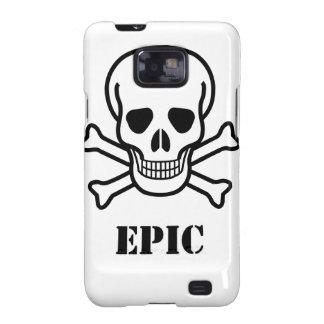 Epic Skull n Bones Samsung Galaxy S Case Galaxy S2 Case
