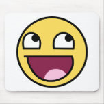 Epic Smiley Face Mousepad