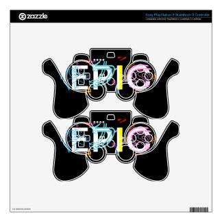 'Epic' Sony PlayStation 3 Dualshock 3 Controller PS3 Controller Skin