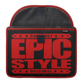 EPIC STYLE - Confidence Is Warrior's Best Weapon Sleeve For MacBooks
