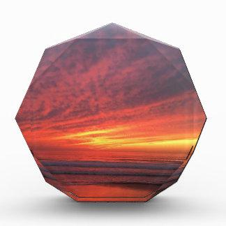Epic sunset at Torrey Pines Acrylic Award