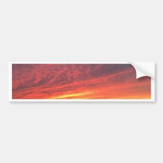 Epic sunset at Torrey Pines Bumper Sticker