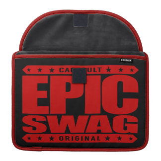 EPIC SWAG - Warrior Spirit Smokes Haters & Trolls Sleeve For MacBook Pro