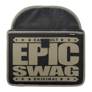 EPIC SWAG - Warrior Spirit Smokes Haters & Trolls Sleeve For MacBooks