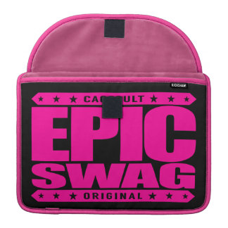 EPIC SWAG - Warrior Spirit Smokes Haters & Trolls Sleeves For MacBook Pro