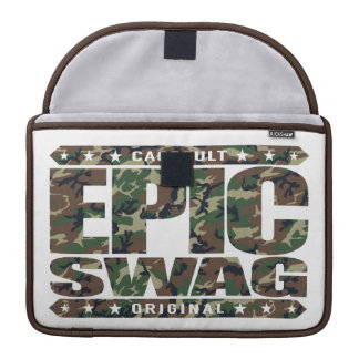EPIC SWAG - Warrior Spirit Smokes Haters & Trolls Sleeves For MacBooks