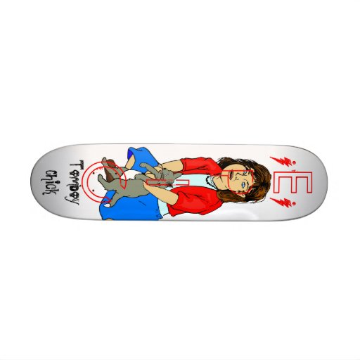 EPIC, Tomboy Chick, Skate Board Deck