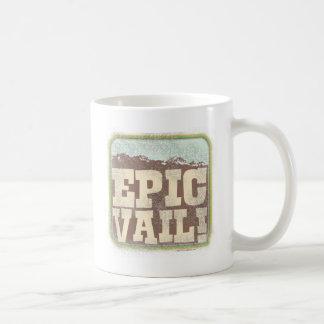 Epic Vail Classic White Coffee Mug