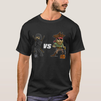 Epic Warrior: Ninja vs Pirate T-Shirt