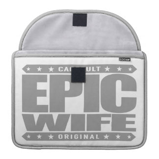 EPIC WIFE - Completely Faithful To My Yoga Teacher Sleeve For MacBook Pro