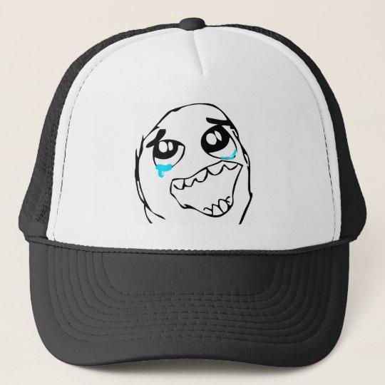 Epic win face trucker hat